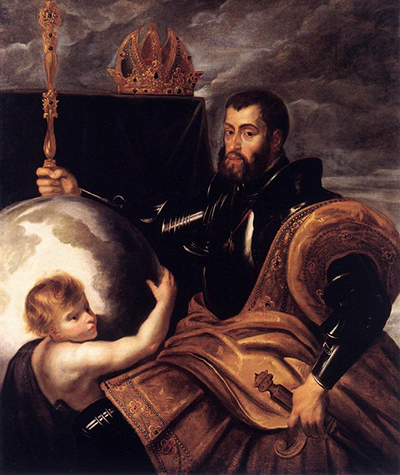 Allegory on Emperor Charles as Ruler of Vast Realms Peter Paul Rubens