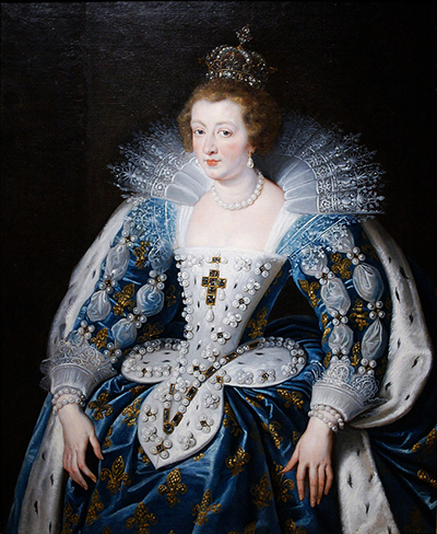 Anna of Austria Queen of France Mother of King Louis XIV Peter Paul Rubens
