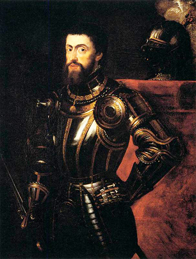 Charles V in Armour Peter Paul Rubens