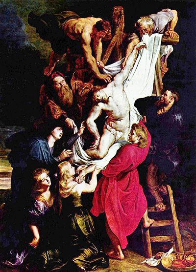 Descent from the Cross Peter Paul Rubens