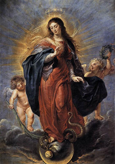 Immaculate Conception Peter Paul Rubens