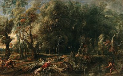 Landscape with Hunt of Atalanta and Meleager Peter Paul Rubens