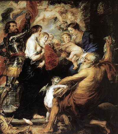 Our Lady with the Saints Peter Paul Rubens