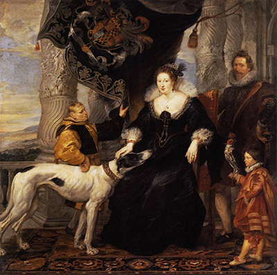 Portrait of Lady Arundel with her Train Peter Paul Rubens