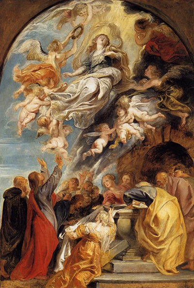 The Assumption of Mary Peter Paul Rubens