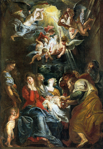 The Circumcision of Christ Peter Paul Rubens