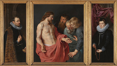 The Incredulity of St Thomas Peter Paul Rubens