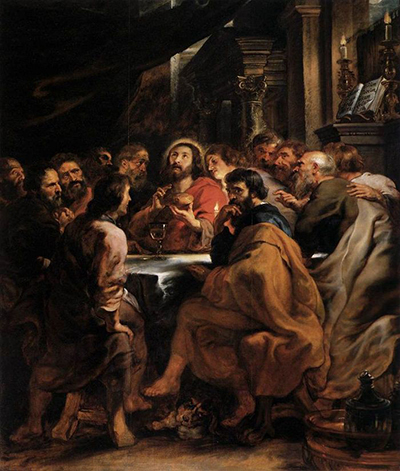 The Last Supper Peter Paul Rubens