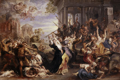 The Massacre of Innocents Peter Paul Rubens
