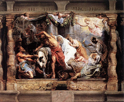 The Victory of Eucharistic Truth over Heresy Peter Paul Rubens